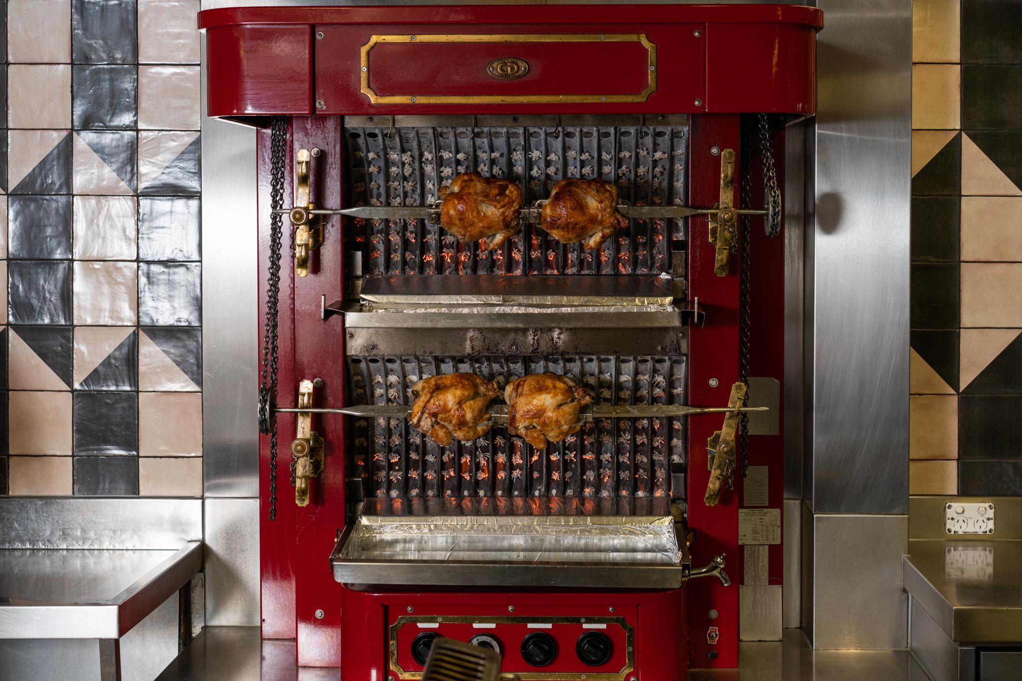 Wednesday night chicken rôtisserie is BACK!